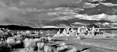 Mono Lake IR View 3 (Neal3K) Tags: monolake california stark tufa ir infraredcamera kolarivisionmodifiedcamera 720nmfilter bw blackandwhite