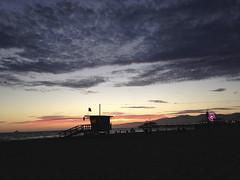 Santa Monica Beach Sunset Baywatch California USA (M&M_Photography) Tags: santamonica beach sunset redsky red baywatch pier santamonicapier sunsetlovers puestadesol sol picture beautiful photo followme