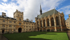 Exeter College, Oxford (AnthonyR2010) Tags: exetercollege exeter oxford college university architecture building georgegilbertscott chapel church quadrangle gradeilistedbuilding ebb