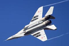 MiG-29 | Polish Air Force (f1_mirage) Tags: mig29 polish air force 89 epmm mińsk mazowiecki fulcrum fighter mikoyan gurevich aircraft airplane aviation sky