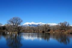 Mirrored (Patricia Henschen) Tags: statewildlifearea salida colorado mountains sawatch winter snow sands sandslake lake swa