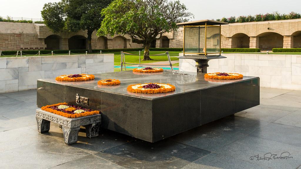 Ghandi's Cremation Memorial