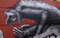 Troll Mural in Bodo (scott1346) Tags: mural troll art colors grey myth storybook folklore 1001nights norway 1001nightsmagiccity autofocus