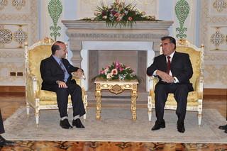 President EMOMALI RAHMON and President ANTON CARAGEA on Dushanbe-World Capital of Culture and Tourism