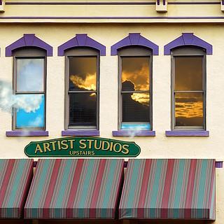 artist studio upstairs