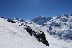 Frontière naturelle (Iris_14) Tags: swissalps zermatt gornergrat lyskamm gornergletscher castoretpollux valais wallis alps mountain gornergratbahn