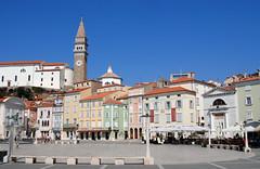 Piazza Tartini #2 (Guglielmo Pedrini) Tags: pirano slovenia