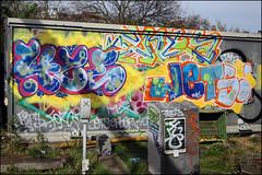4ce / Enta / Jets (Alex Ellison) Tags: 4ce force enta jets pbs northwestlondon trackside railway urban graffiti graff boobs