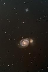 M51 Whirlpool Galaxy (ste7ee) Tags: astrophotography m51 whirlpool galaxy