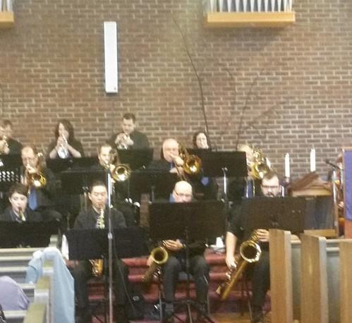 Enjoying #JazzVespers @geuccan #MapleRidge