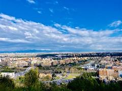 Da qui si vede tutto.... (ioriogiovanni10) Tags: nuvole sky cielo città rome zodiaco montemario roma lumix