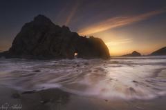 The Rock! - Pfeiffer Beach (AlkhashabNawaf) Tags: california trip travel sunset usa seascape motion beach rock america landscape movement nikon angle photos wide pfeiffer d800 nawaf شاطئ نيكون نواف كاليفورنيا لاندسكيب الخشاب alkhashab سيسكيب دي٨٠٠