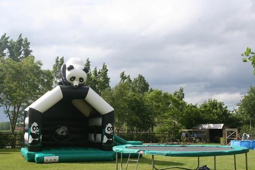 springkasteel panda