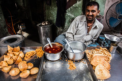 Samosa (Get-Me Pics) Tags: street food india man get me smile shop rural photography stuffed sauce working vegetable pots pastry local samosa fried effect bikaner rajasthan