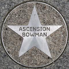 Ascension Bowman (chrisinplymouth) Tags: uk england metal circle star pavement plymouth devon round marker squaredcircle squircle royalparade trp pentagonal theatreroyalplymouth cw69x chrisinplymouth