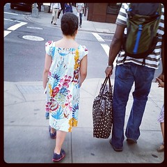 She wears willingly, but refuses a photo #madeforkidsmonth #jenniferpaganelli (dkbnyny) Tags: square dress cotton squareformat hudson girlsdress sisboom jenniferpaganelli annamariahorner iphoneography instagramapp uploaded:by=instagram loulouthi