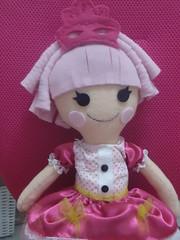 DSC06489 (ternuraemfeltro) Tags: blog bebe feltro boneca decorao luxo molde bordado provenal fralda lalaloopsy