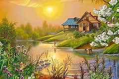 Online Puzzler Game Called The Warm Sun (thefoxdot) Tags: puzzles jigsawpuzzles onlinepuzzles playpuzzle jigbo thewarmsunpuzzle