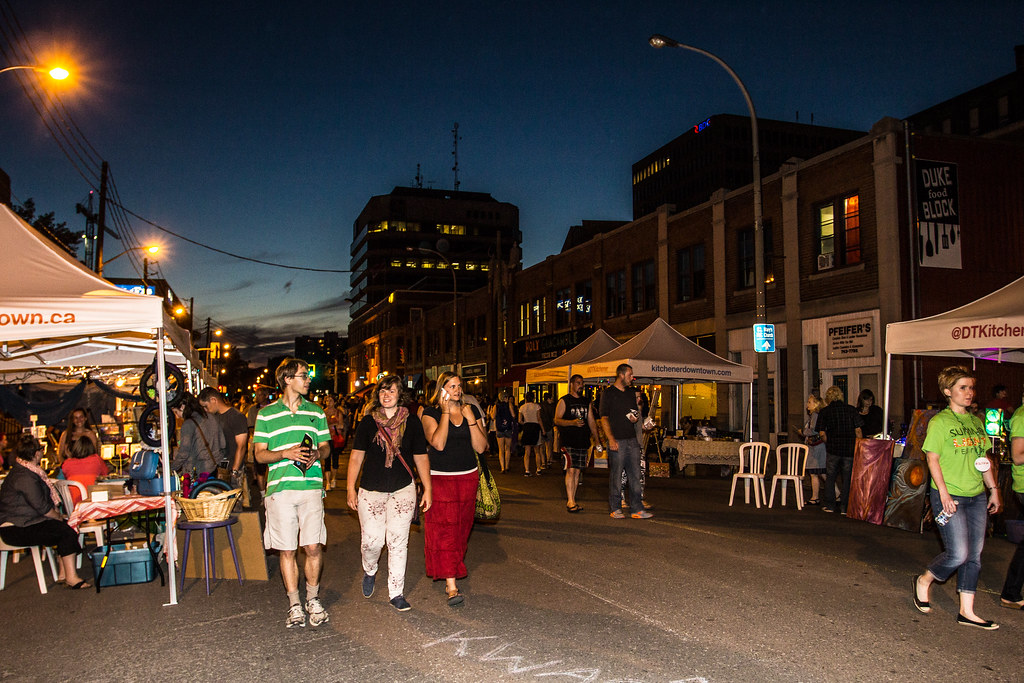Summer Lights Festival Kitchener