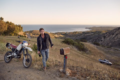 Mathieu Young (ryan schude) Tags: sunset portrait truck photography dusk documentary malibu motorcycle series oceanview goldenhour ryanschude latigocanyon canon5dmark3 mathieuyoung wwwryanchudecom themtheirs canon24mmlserieslens