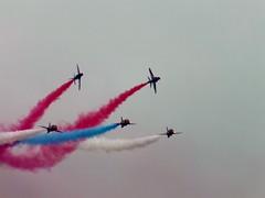 Folkestone Airshow 2014 (Paul @ Doverpast.co.uk) Tags: red team hawk aircraft arrows dsplay redarrows raf royalairforce