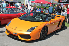 Lamborghini Gallardo LP560-4 Spyder (CA Photography2012) Tags: auto ca orange car museum photography italian italia day convertible automotive spyder exotic lamborghini supercar v10 gallardo sportscar brooklands lambo 2014 lp5604 w33map