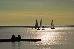West Kirby (Lee1885) Tags: sunset boats sail wirral westkirkby