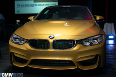 BMW M4 and M3 Launch - Road America (Murph32256) Tags: roadamerica f80 launch bmwm3 f82 elkhartlake bmwm4 d300s 35mmf18g nikond300s bmwteamrll m3dct sakhirorange yasmarinablue austinyellow bmwm3limerockedition