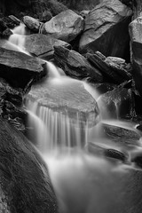 Bhagsunath Waterfall.. (nimitnigam) Tags: blackandwhite india water flow waterfall big nikon long exposure 10 indian filter lee nd filters milky himachal dharamshala dharamsala nimit stopper pradesh d800 himachalpradesh waterscape nigam bhagsunath bhagsunag 10stops nd10