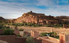 At Benhaddou in evening colors (dieLeuchtturms) Tags: wallpaper horizontal dessert morocco maroc atlas afrika wadi marokko ksar wste kasbah atbenhaddou querformat 16x10 8x5 hoheratlas soussmassadra soussmassadra