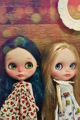 Alexis e Scarlett