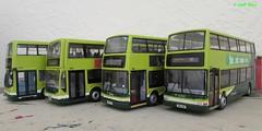 Buses of Somerset (jeff.day48) Tags: president alexander dennis trident eastlancs plaxton transbus code3 modelbus 32756 32961 32930 33381 wa54olo lolynemyllenium busesofsomerset firstdevoncornwallsomerset lk53eza mig4760 mig4761