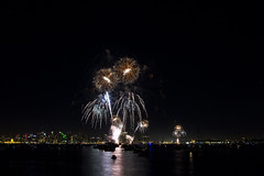 7-4-14 Fireworks 01 (StarDude Astronomy) Tags: show sky beautiful night canon island bay harbor big san day fireworks 4th july diego boom stunning 28 independence breathtaking 14mm 60d rokinon