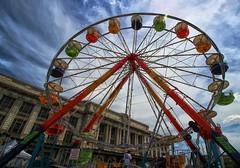Ferris Wheel at Art Scape 2014 (Forsaken Fotos) Tags: summer ferriswheel artscape outsidefun summer2014 artscape2014