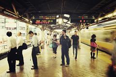 Tokyo + Metro | Japan, July 2014 (Sebastien BERTRAND) Tags: city station japan canon subway tokyo metro mtro streetphotography streetphoto  japon ville photoderue eos40d canon40d fotomato sebfotomato sbastienbertrand sebastienbertrand