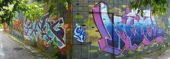 quickage-DSC_0573-DSC_0578 v2 (collations) Tags: toronto ontario graffiti motel osker