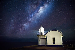 beginning (Kash Khastoui) Tags: road lighthouse port way point star coast sony central nsw macquarie milky lighhouse tacking kash 24105 khashayar a7r khastoui