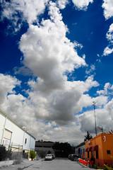 Nube en el polígono (cives-expat) Tags: street españa clouds landscape spain paisaje nubes andalusia calles jerezdelafrontera polígono poligon