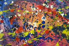 creative expression.. (mag2003...) Tags: art painting group creative expressions jackson pollock