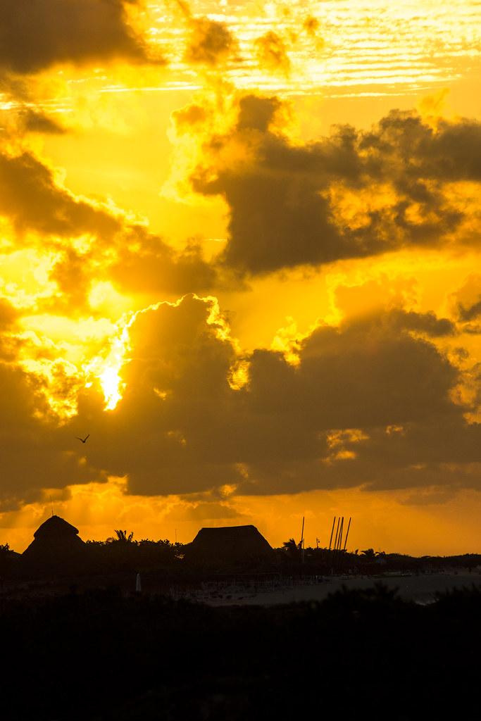 Coucher de soleil / Sunset - Meliá Las Dunas - Cuba