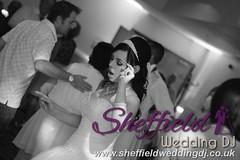 Andrew & Lauren McCambridge - Hellaby Hall - Black & White  Wedding Photos by Sheffield Wedding DJ 053