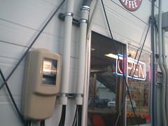 my favorite cafe (-ICHIRO) Tags: street camera toy snap agfa sensor 505d