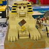 Very cool sphinx! We printed the Pharaoh's Labyrinth 1x8 tan brick on the trophy! @BrickFair VA #LEGO #AncientEgypt (TArmstrong) Tags: brick square lego egypt squareformat trophy printed pharoah moc sphnix brickengraver brickfair iphoneography instagramapp uploaded:by=instagram sphniz