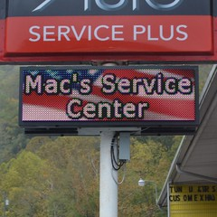 Full Color LED Sign | Mac's Service Center
