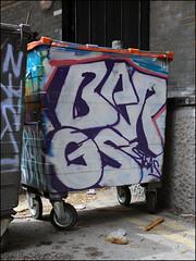 Bergs (Alex Ellison) Tags: urban graffiti boobs bin graff trellicktower westlondon bergs
