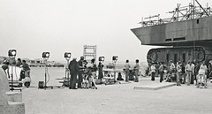 Shooting by the sandcrawler (Tom Simpson) Tags: film starwars tunisia behindthescenes sandcrawler