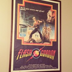 Flash Gordon poster. Love! #newzealand #theroxy #wellington (SarahJa7) Tags: valencia square squareformat nz wellington roxy iphoneography instagramapp uploaded:by=instagram foursquare:venue=4d3c8f26557d6dcb771d3c44