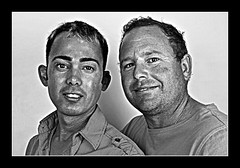 Boys B&W (Portrait Central) Tags: lighting gay boy portrait white man black male men guy boys sex studio photo couple photographer central dramatic guys professional photograph same males