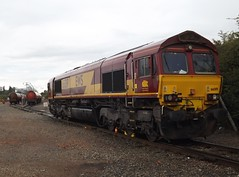 Shed on the Tanks: Class 66 at Bedworth Murco Siding