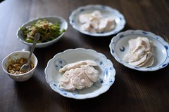 Steamed chicken with ume sauce (babykins.) Tags: food chicken d600 14dg50mm